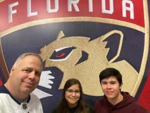 Robert attended Florida Panthers vs. Philadelphia Flyers - NHL on Feb 13th 2020 via VetTix
