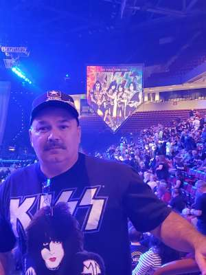 Dennis attended Kiss: End of the Road World Tour on Feb 11th 2020 via VetTix