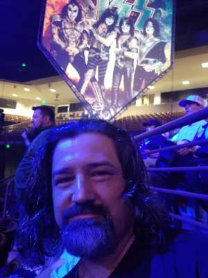 Brian attended Kiss: End of the Road World Tour on Feb 11th 2020 via VetTix