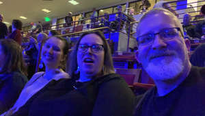 Geoffrey attended Kiss: End of the Road World Tour on Feb 11th 2020 via VetTix