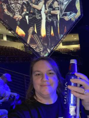 Jeffrey attended Kiss: End of the Road World Tour on Feb 11th 2020 via VetTix