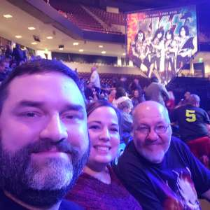 Josh Boggs attended Kiss: End of the Road World Tour on Feb 11th 2020 via VetTix