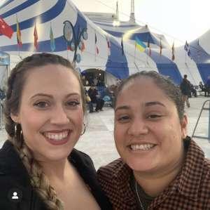 Alyssa attended Cirque Du Soleil - Amaluna on Feb 6th 2020 via VetTix