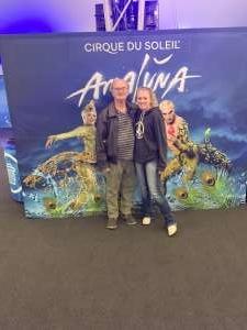 Michael attended Cirque Du Soleil - Amaluna on Feb 6th 2020 via VetTix