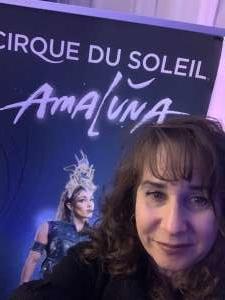 Linda attended Cirque Du Soleil - Amaluna on Feb 6th 2020 via VetTix