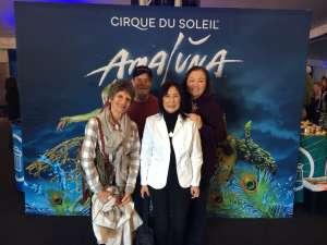 Fred attended Cirque Du Soleil - Amaluna on Feb 6th 2020 via VetTix