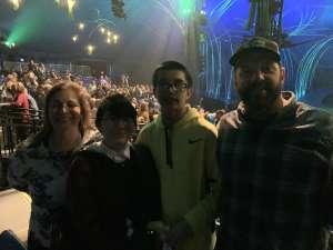 Kevin attended Cirque Du Soleil - Amaluna on Feb 6th 2020 via VetTix