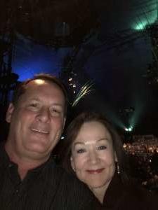 Brock attended Cirque Du Soleil - Amaluna on Feb 6th 2020 via VetTix