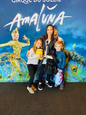 charles attended Cirque Du Soleil - Amaluna on Feb 6th 2020 via VetTix