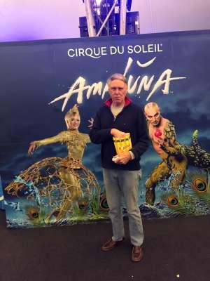 Daniel attended Cirque Du Soleil - Amaluna on Feb 6th 2020 via VetTix