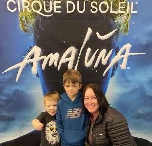 Denise attended Cirque Du Soleil - Amaluna on Feb 6th 2020 via VetTix