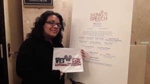 Carolina attended The King's Speech on Feb 12th 2020 via VetTix