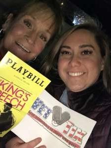 Ellen-Sue attended The King's Speech on Feb 12th 2020 via VetTix