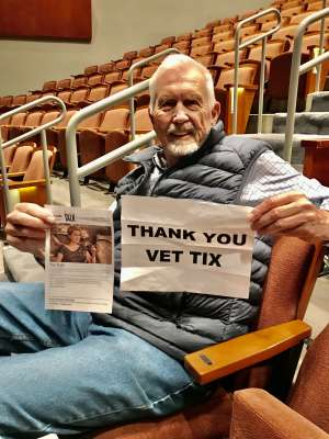 Thomas attended Talk Cinema #6 on Mar 3rd 2020 via VetTix