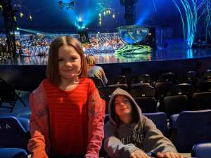 Sam attended Cirque Du Soleil - Amaluna on Feb 13th 2020 via VetTix