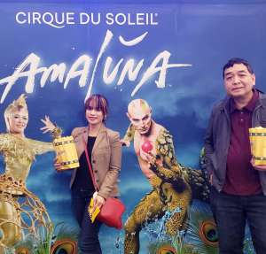 Mark attended Cirque Du Soleil - Amaluna on Feb 13th 2020 via VetTix