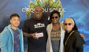 JEFFREY attended Cirque Du Soleil - Amaluna on Feb 13th 2020 via VetTix