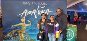 Crystal attended Cirque Du Soleil - Amaluna on Feb 13th 2020 via VetTix