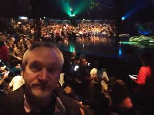 Tom attended Cirque Du Soleil - Amaluna on Feb 13th 2020 via VetTix
