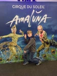 William attended Cirque Du Soleil - Amaluna on Feb 13th 2020 via VetTix