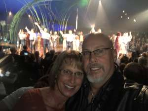 Alan attended Cirque Du Soleil - Amaluna on Feb 13th 2020 via VetTix