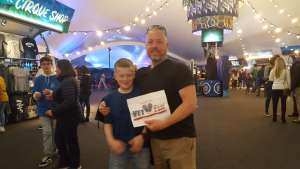 Joshua attended Cirque Du Soleil - Amaluna on Feb 13th 2020 via VetTix
