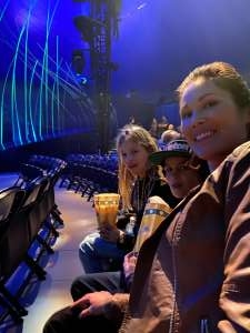 Donna attended Cirque Du Soleil - Amaluna on Feb 13th 2020 via VetTix