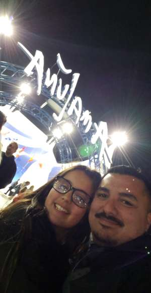 Jonathan attended Cirque Du Soleil - Amaluna on Feb 13th 2020 via VetTix