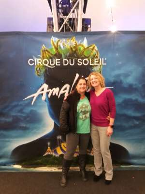 Tracy attended Cirque Du Soleil - Amaluna on Feb 13th 2020 via VetTix