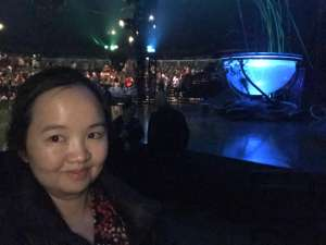 Rakkiat attended Cirque Du Soleil - Amaluna on Feb 13th 2020 via VetTix