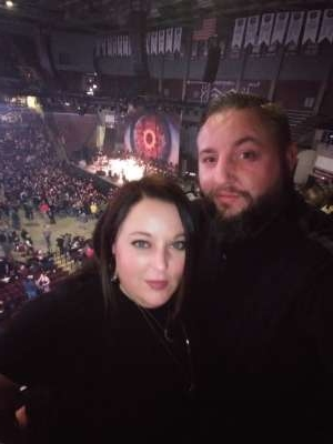 Tanner attended Korn & Breaking Benjamin Winter Tour on Feb 13th 2020 via VetTix