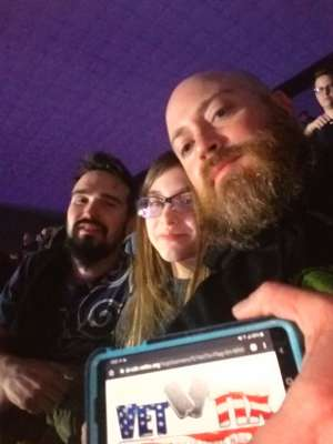 clifton attended Korn & Breaking Benjamin Winter Tour on Feb 13th 2020 via VetTix