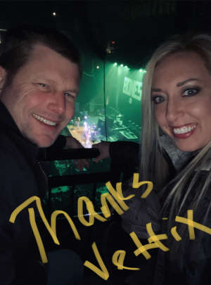 Charles attended Korn & Breaking Benjamin Winter Tour on Feb 13th 2020 via VetTix