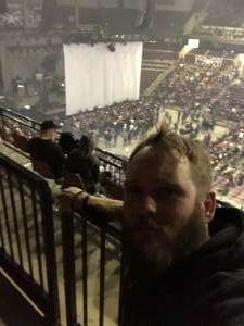 Kreagen attended Korn & Breaking Benjamin Winter Tour on Feb 13th 2020 via VetTix