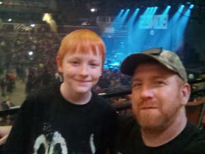 Michael attended Korn & Breaking Benjamin Winter Tour on Feb 13th 2020 via VetTix