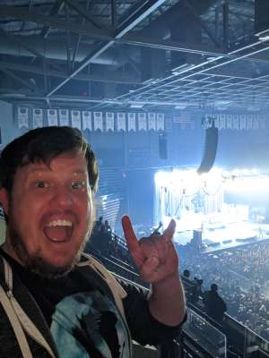 Robert attended Korn & Breaking Benjamin Winter Tour on Feb 13th 2020 via VetTix