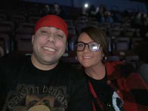 James attended Korn & Breaking Benjamin Winter Tour on Feb 13th 2020 via VetTix