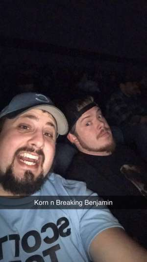 Nick attended Korn & Breaking Benjamin Winter Tour on Feb 13th 2020 via VetTix