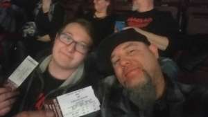Joe attended Korn & Breaking Benjamin Winter Tour on Feb 13th 2020 via VetTix