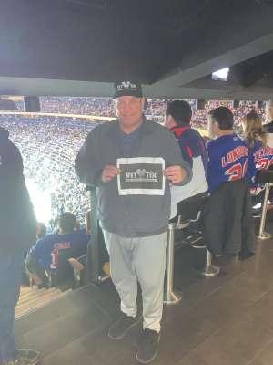 Christopher attended New York Rangers vs. Toronto Maple Leafs - NHL on Feb 5th 2020 via VetTix