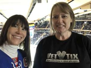 Elizabeth  attended New York Rangers vs. Toronto Maple Leafs - NHL on Feb 5th 2020 via VetTix