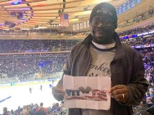 Anthony attended New York Rangers vs. Toronto Maple Leafs - NHL on Feb 5th 2020 via VetTix