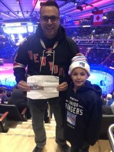Michael attended New York Rangers vs. Toronto Maple Leafs - NHL on Feb 5th 2020 via VetTix