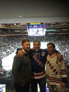 Richard attended New York Rangers vs. Toronto Maple Leafs - NHL on Feb 5th 2020 via VetTix