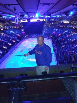 Jeff attended New York Rangers vs. Toronto Maple Leafs - NHL on Feb 5th 2020 via VetTix