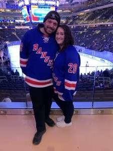 nicholas attended New York Rangers vs. Toronto Maple Leafs - NHL on Feb 5th 2020 via VetTix