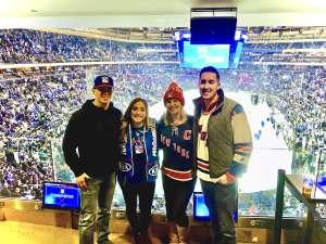 Patrick attended New York Rangers vs. Toronto Maple Leafs - NHL on Feb 5th 2020 via VetTix