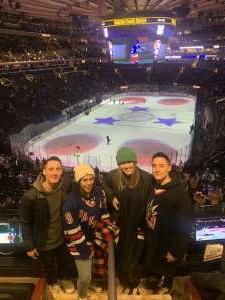 Jason H. attended New York Rangers vs. Toronto Maple Leafs - NHL on Feb 5th 2020 via VetTix