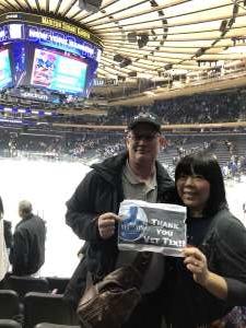 Tim attended New York Rangers vs. Buffalo Sabres - NHL on Feb 7th 2020 via VetTix