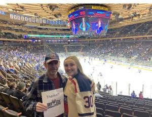 Brian attended New York Rangers vs. Buffalo Sabres - NHL on Feb 7th 2020 via VetTix